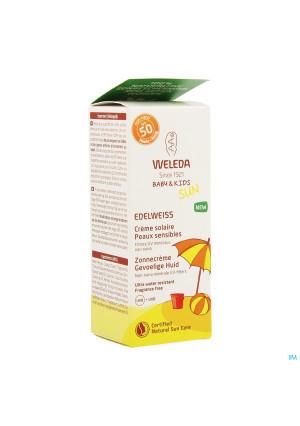 Weleda Edelweiss Zonnecreme Gevoel.huid Ip50+ 50ml3643566-20
