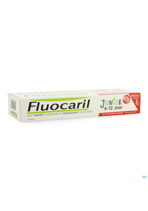 Fluocaril Junior Rood Fruit 75ml3665254-20