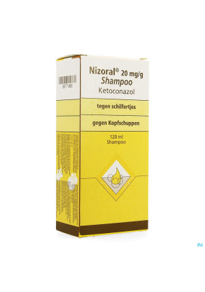 Nizoral Impexeco 20mg/g Shampoo 120ml Pip3677960-20