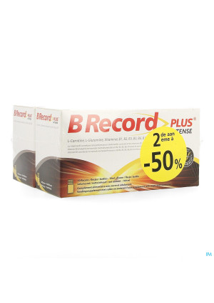 B Record Plus Intense Flacon 20x10ml Promo 2e-50%3690369-20