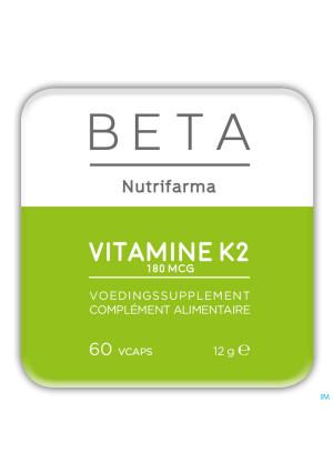 Beta Vitamine K2 180 mcg V-caps 603697406-20