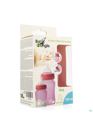 B-thermo Glass Bottle 150ml Pink3702354-20