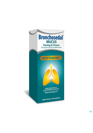 Bronchosedal Mucus Honing Citroen 300ml 20mg/ml3706942-20