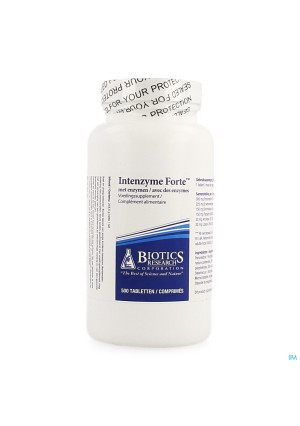 BIOTICS INTENZYME FORTE 500 TABL3714797-20