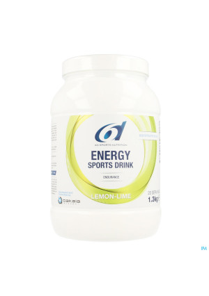 6d Sixd Energy Sports Drink Lemon Lime Pdr 1,3kg3728953-20
