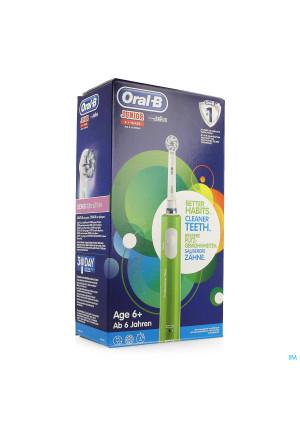Oral-b Tandenborstel Vitality Junior 6+ Groen3775731-20