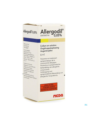 ALLERGODIL 0,05% COLL PI PHARMA 6 ML3782935-20