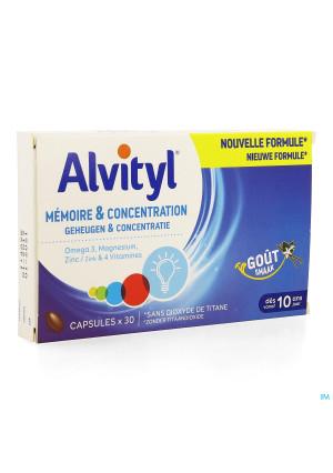 Alvityl Geheugen Concentratie Caps 303785938-20