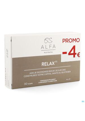 Alfa Relax V-caps 30 Promo-4€3790003-20