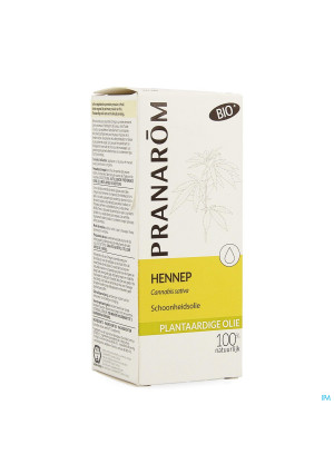 Hennep Plantaardige Olie Fl 50ml Pranarom3796141-20