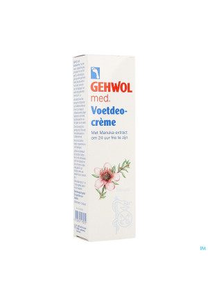 Gehwol Med Voetdeocreme 75ml3832409-20