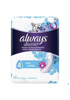 Always Discreet Incontinence Pads Long Sp X103892643-20