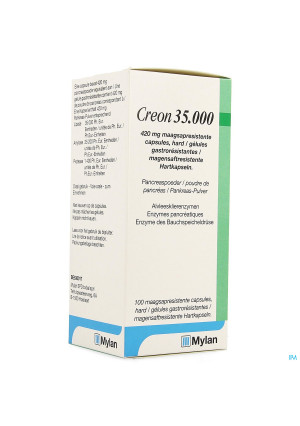Creon 35000 420mg Maagsapresist Harde Caps 1003901733-20