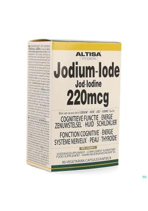 Altisa Jodium 220mcg V-caps 903951720-20