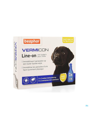 Beaphar Vermicon Line-on Puppy 3x1,5ml3963733-20