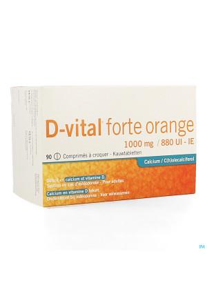D Vital Forte Sinaas 1000mg/880ie Kauwtabl 903964111-20