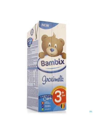 Bambix Groeimelk Natuur 3+ 1l3967643-20