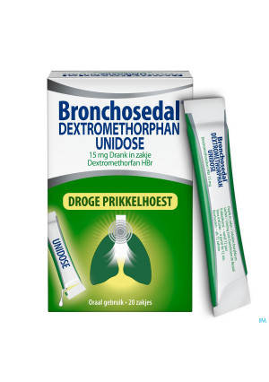 Bronchosedal Dextromethor.15mg Opl Zakje 20x5ml Ud3976891-20
