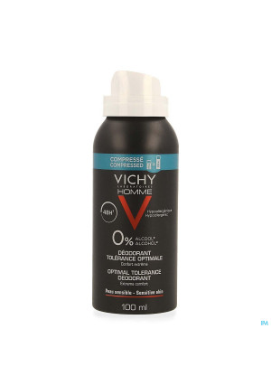 Vichy Homme Deo Aero Optimale Tolerantie 48h 100ml4107082-20