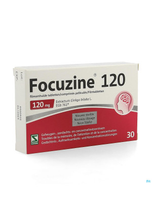 Focuzine® 120 MG 30 TABLETTEN4121059-20