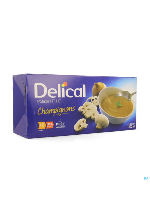 Delical Soep Hphc Champignons 4x300ml Nf4130928-20