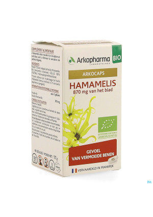 Arkocaps Hamamelis Bio Caps 45 Nf4137915-20