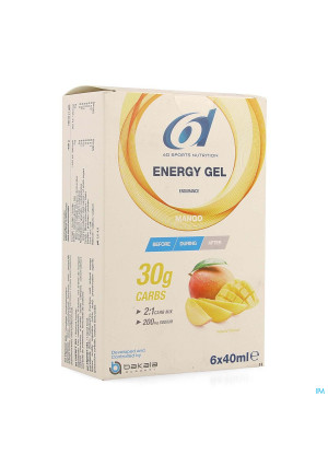 6d Sixd Energy Gel Mango 6x40ml4167938-20