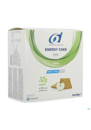 6d Sixd Energy Cake Apple 6x44g4198859-20