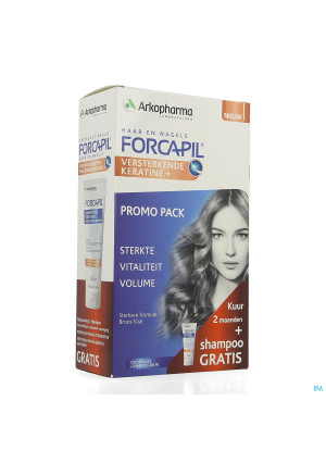 Forcapil Ontdekkingspack Caps 2x60+sh 200ml Grat.4204806-20