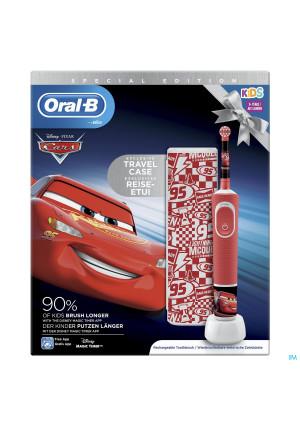 Oral B D100 Cars + Travelcase Gratis4234373-20