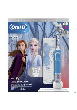 Oral B D100 Frozen 2 + Travelcase Gratis4234381-20