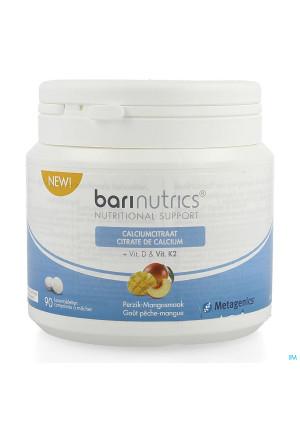 Barinutrics Calciumcitraat Perzik-mango Kauwcomp904235057-20