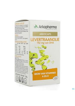Arkocaps Levertraanolie Caps 220 Arkopharma4235768-20