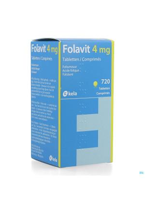 Folavit 4mg Comp 720 X 4mg4238366-20