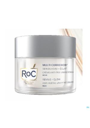 Roc Multi Correx.revive+glow A/age Cr Rich Pot50ml4308946-20