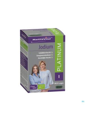 Mannavital Jodium Platinum Bio V-caps 904344263-20