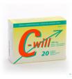 C-WILL 20 CAPS1448778-010