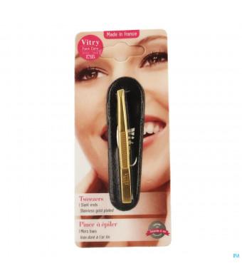 Vitry Prestige Pince Epiler Oblique Inox 40161022540-31