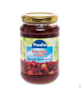 Prodia Confiture 4 Fruits + Fructose 370g 60951038355-31