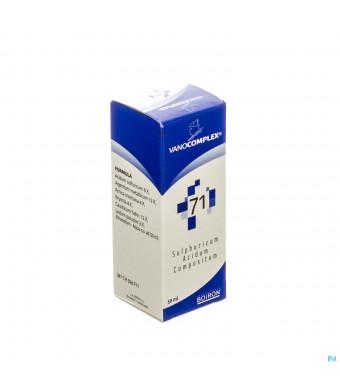 Vanocomplex N71 Acidum Sulf. Gutt 50ml Unda1427368-31