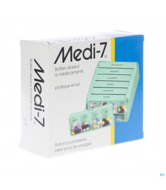 Medi-7 Pilullier Semaine1448760-32