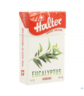 Halter Bonbon Eucalyptus Ss 40g1449438-31