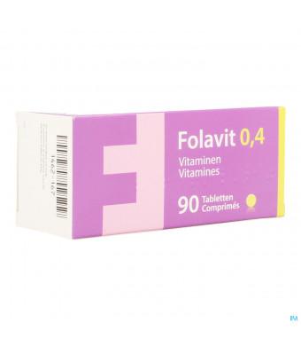 Folavit 0,4mg Tabl 90 X 0,4mg Cfr 37615171462167-31