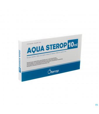 Aqua Sterop Pour Inj Solvens Amp 10 X 10ml1846237-34