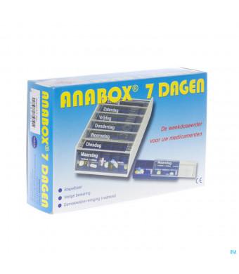 Anabox Pilbox Blauw 7 Dagen2181063-31