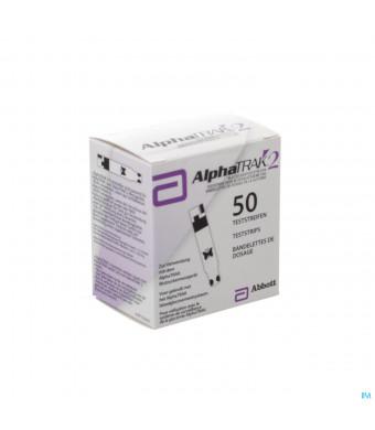 Alphatrak Controle Glycemie Bandelettes 503050499-31