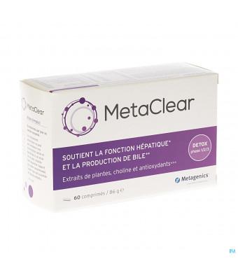 Metaclear Tabl 60 Metagenics3051620-317