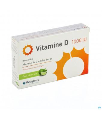 Vitamine D 1000iu Comp 84 Metagenics3080223-318