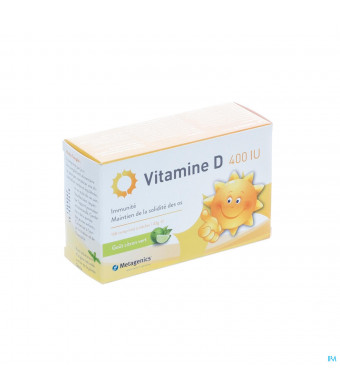 Vitamine D 400iu Comp 168 Metagenics3080231-317