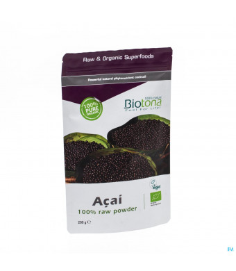 Biotona Acai Raw Powder 200g3091972-31